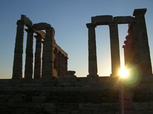 Yacht charter Greece Aegean Sounion